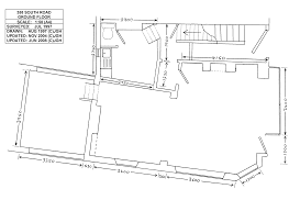 Shop Floor Plan Corner Shop Premises In Walkley Sheffield