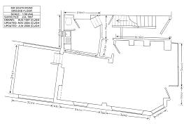 Shop Floor Plans Corner Shop Premises In Walkley Sheffield
