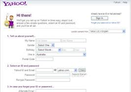 Yahoo Sign In Yahoo Email Account Info Page Sign Up And Login To Your Yahoo Mail