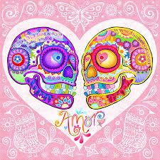 Sugar Skulls For Sale Sugar Skull Art Colorful Day Of The Dead Art By Thaneeya Mcardle