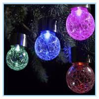 Ball Solar Lights - wholesale crackle ball solar lights buy cheap crackle ball solar