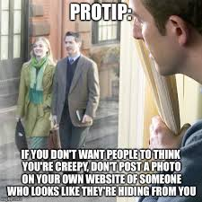 Protip Meme - this photo is actually on the jehovah s witnesses website imgflip