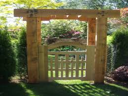 English Garden Pergola by Garden Arbor With Gate Laminated Arched Garden Arbor With Gate