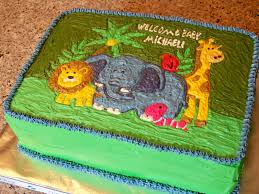 jungle theme cakes for baby shower party xyz