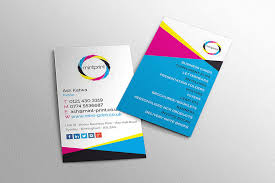 a personal letterhead business card printing and design service