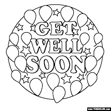 get well soon for children get well printable coloring pages want to help your child brighten