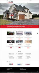 george s garage door services website design doohickey creative george s garage door services website design