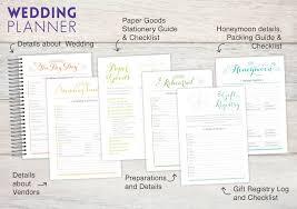 custom wedding planner the ultimate engagement gift purpletrail wedding planners