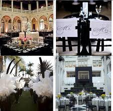 decoration mariage noir et blanc deco de salle de mariage et blanche mariage idées