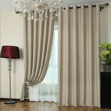 deep khaki blackout curtains made of polyester buy as photo