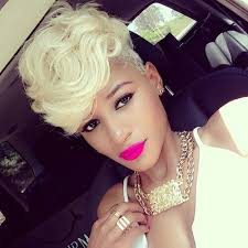 older women with platinum blonde pink hair 50 short hairstyles for black women stayglam