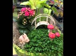 miniature fairy garden ideas youtube