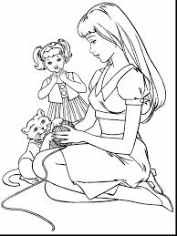good disney princess barbie coloring page with barbie coloring