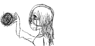 the last goodbye sketch by aquawolfdbzfan on deviantart