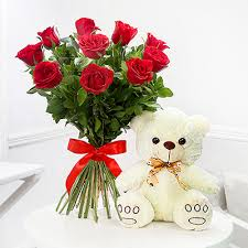 birthday bears delivered flowers with teddy bears send teddy with flowers online delivery