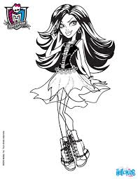 abbey bominable coloring pages spectra vondergeist coloring pages hellokids com