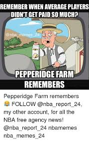 Pepperidge Farm Meme - remember when averageplayers didntget paid so much nba memes