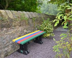 recycled plastic benches for children