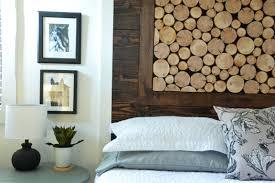 wood slice headboard harbour breeze home