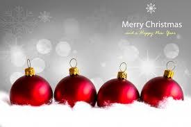 christmas balls christmas balls with snow photo free