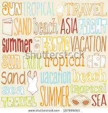 travel words images Vacation travel words icons vector stock photo photo vector jpg
