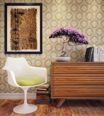 wallpapers for home interiors paint or wallpaper for interior walls of the house are durable and