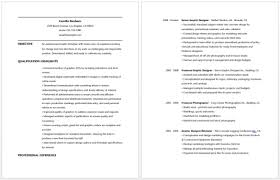 2 Page Resume Samples by 2 Page Resume Template Trendy Inspiration Ideas 1 Page Resume 7