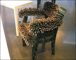 How To Make An Armchair Creative Chairs From Odd Materials