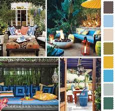 Home Outdoor Decorating Ideas 5 Outdoor Home Decorating Color Schemes And Patio Ideas For Summer