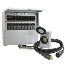 reliance controls 10 circuit 30 amp manual transfer switch kit