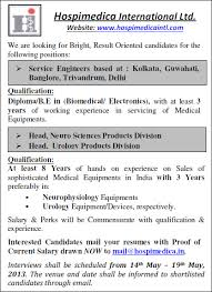 Current Job On Resume by Hospimedica International Ltd