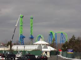 How Much Is 6 Flags Goliath Construction At Six Flags New England