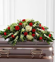 the ftd sincerity casket spray
