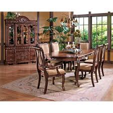 steve silver dining room furniture steve silver harmony 7 piece traditional oval dining table and