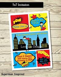 birthday invites marvelous superman birthday invitations design