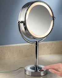 Special Lighted And Unlighted Magnifying Makeup Mirrors Bathroom