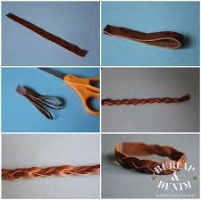 leather bracelet girl images Diy leather bracelets burlap denimburlap denim jpg