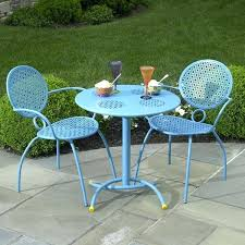 Bistro Chairs Uk Metal Bistro Set Ebay Aqua Round Modern Metal Patio Bistro Set