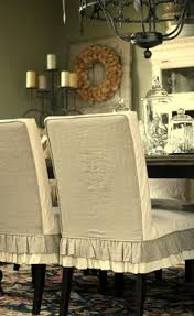 Slip Covers For Dining Room Chairs Knowing How To Make Dining Chair Slipcover Beautiful Dining Room