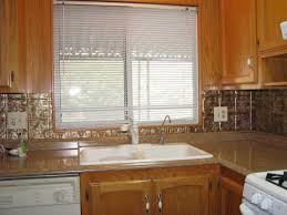 Tin Backsplash For Kitchen Kitchen Sink Backsplash Ideas Attractive Home Design