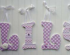 Decorated Letters For Nursery Handpainted And Decorated Wooden Letters Nursery By Pepperbuttons