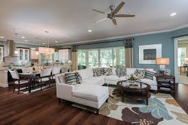 southern home interiors sisler johnston interior design completes model at