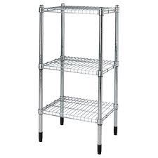 Kitchen Storage Shelving Unit - omar shelving unit galvanised storage apartments and ikea shopping