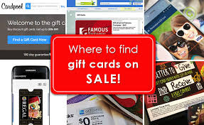 gift card sale the 10 best places to find gift cards on sale gcg