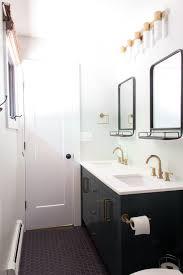 Brass Fixtures Bathroom Brass Hardware In The Bathroom Bright Green Door