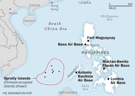 East China Sea Map by These Are The Bases The U S Will Use Near The South China Sea