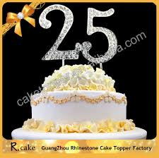 25 cake topper personalized cake topper numbers 25 age arabic wedding cake
