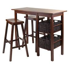 breakfast table for two amazon com winsome wood egan 5 piece breakfast table with 2