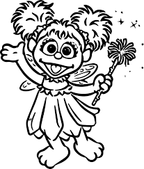 coloring decorative abby coloring pages