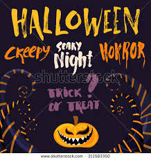 Halloween Event Poster Template Your Design Stock Vector 222845857